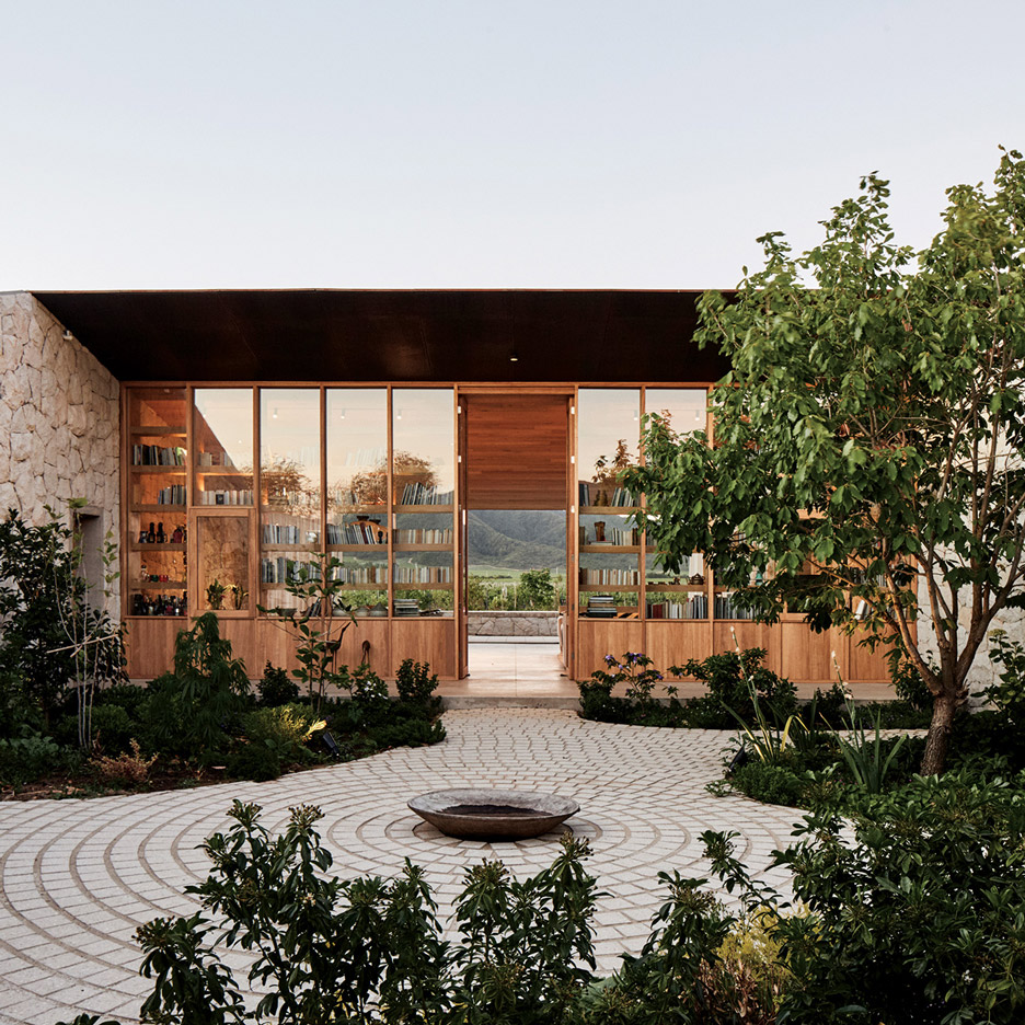 Matias Zegers Arquitectos Builds Stone Courtyard House In Chile