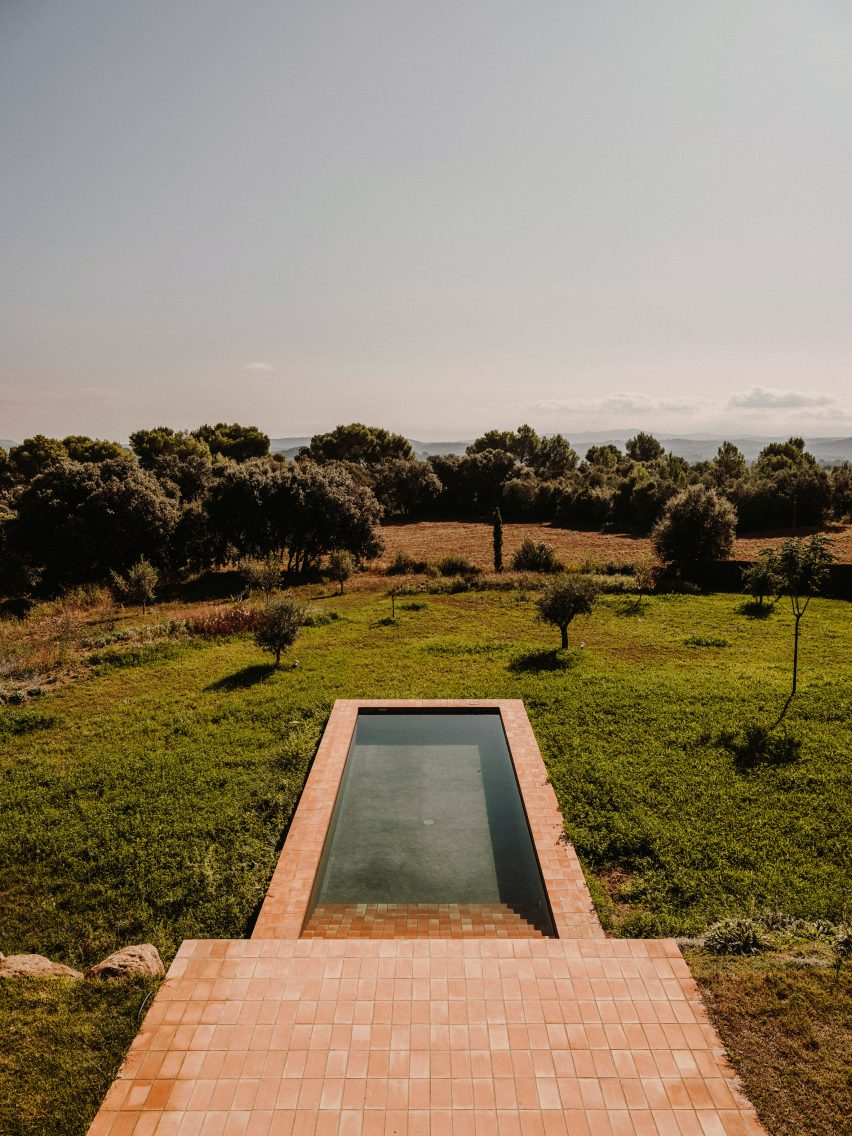 Pool of Casa Ter by Mesura