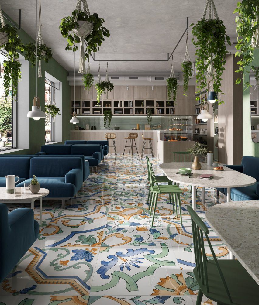 Amalfi in Riflessi tile collection by Ceramiche Refin