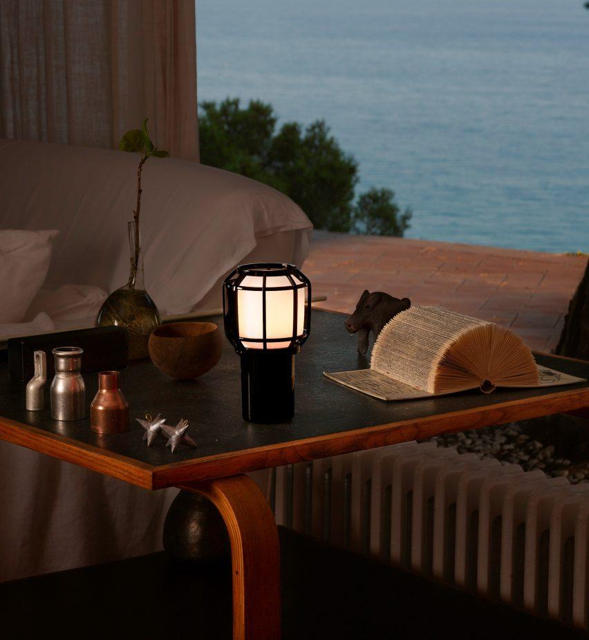Chispa lamp by Marset and Cupra