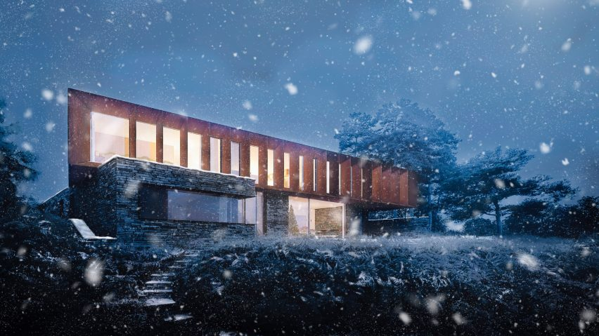 Christmas card by Ström Architects
