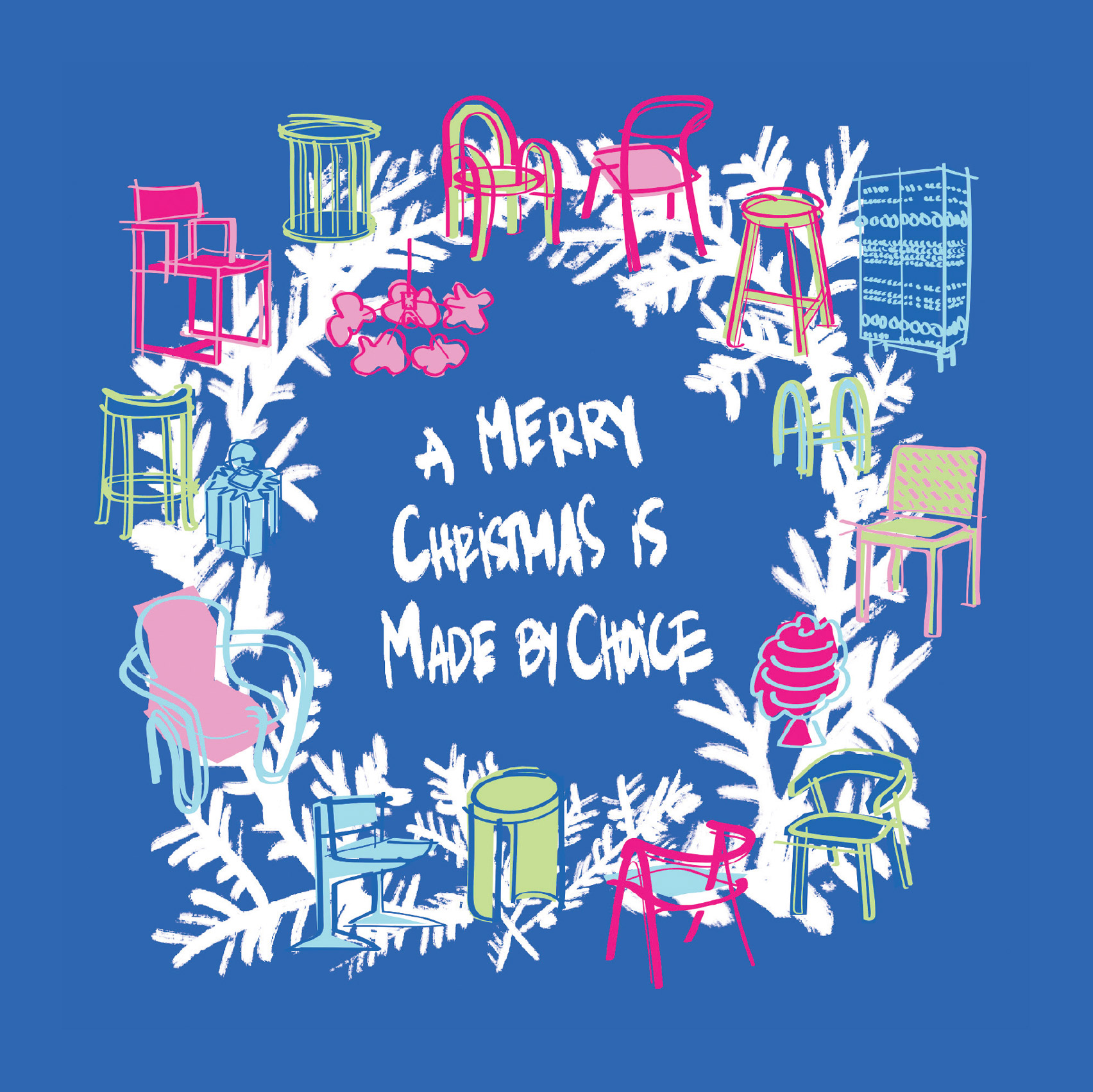 Christmas card by Made By Choice