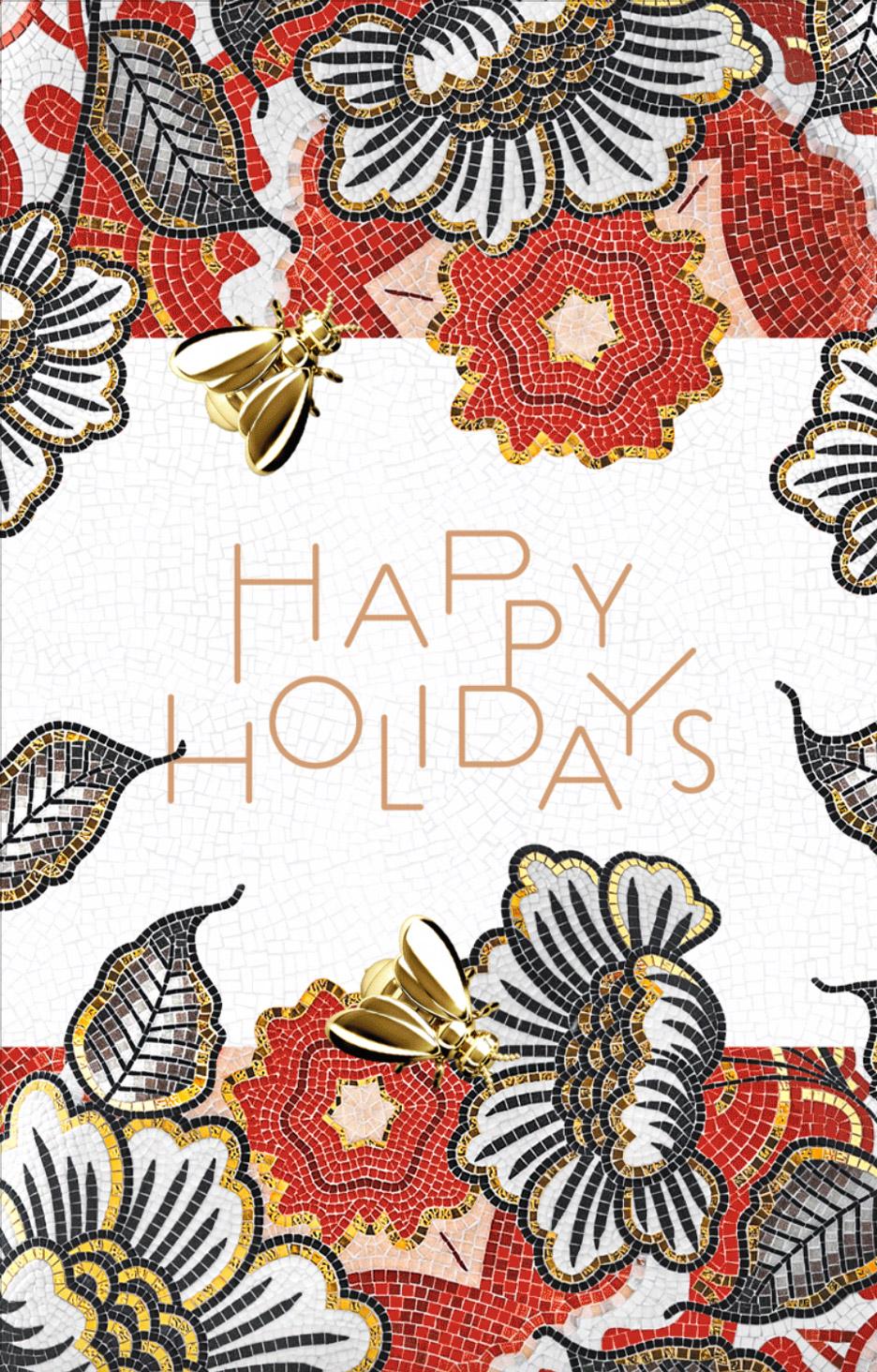 Christmas card by Marcel Wanders