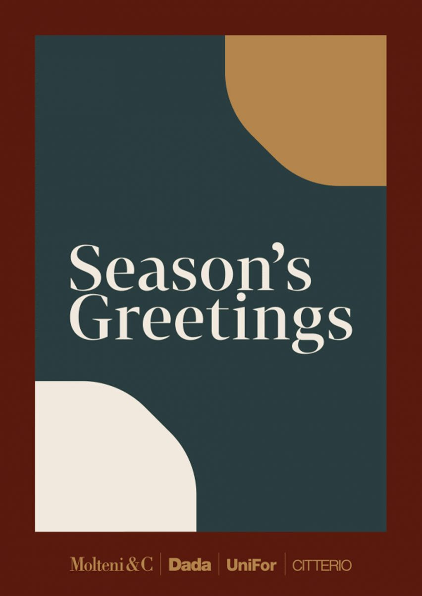 Christmas card by Molteni&C