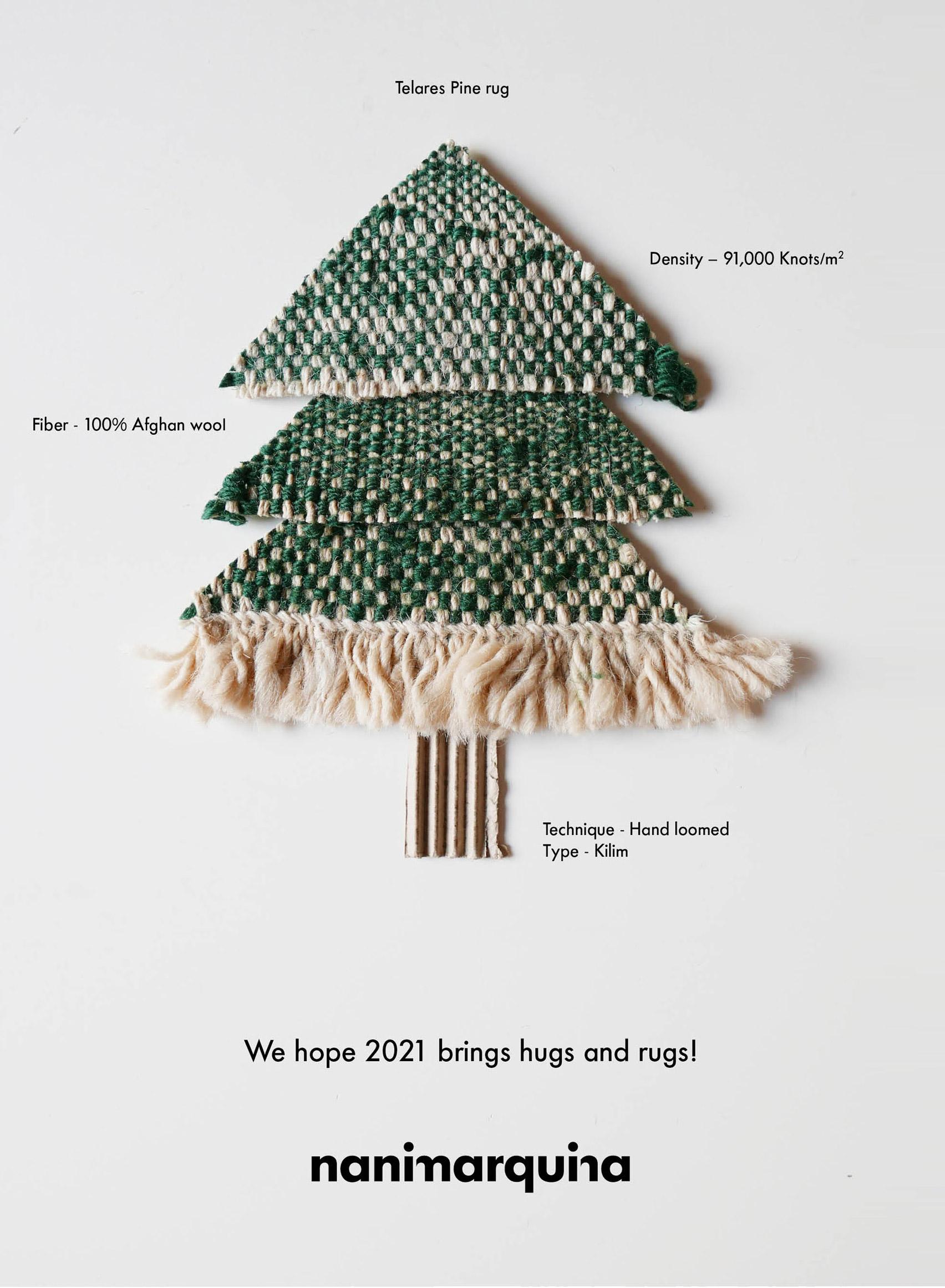 Christmas card by Nanimarquina