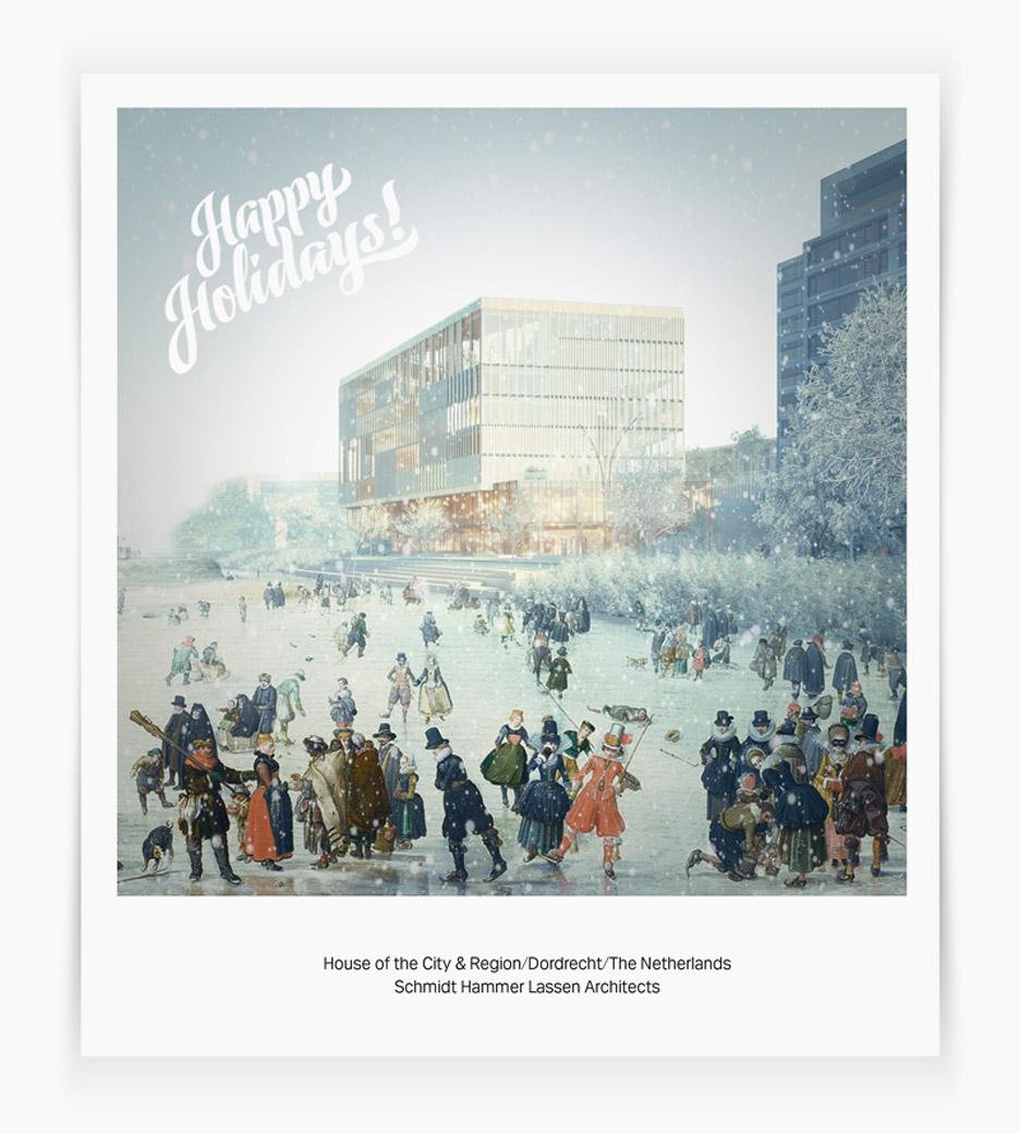 Christmas card by Schmidt Hammer Lassen Architects