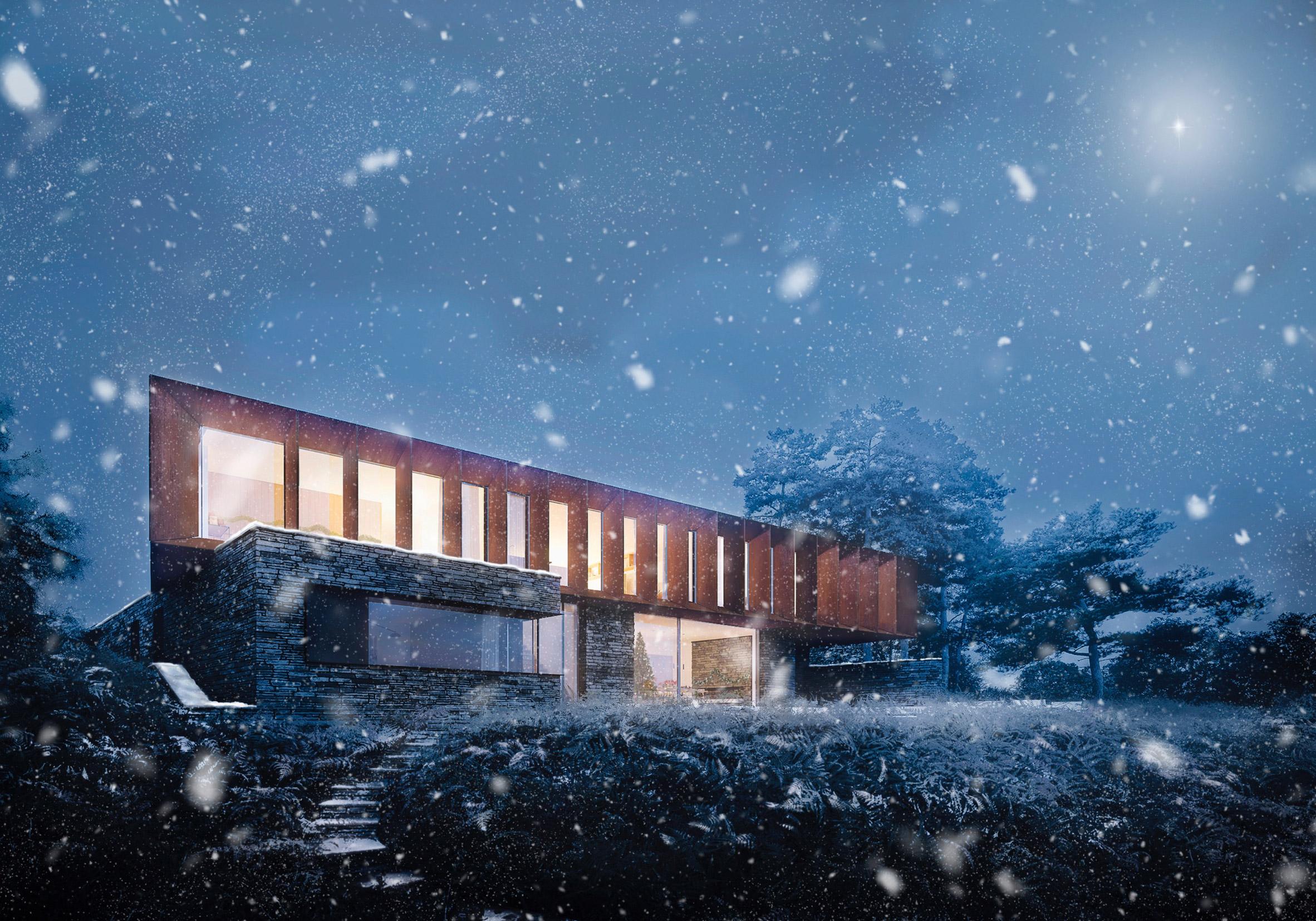 Christmas card by Ström Architects