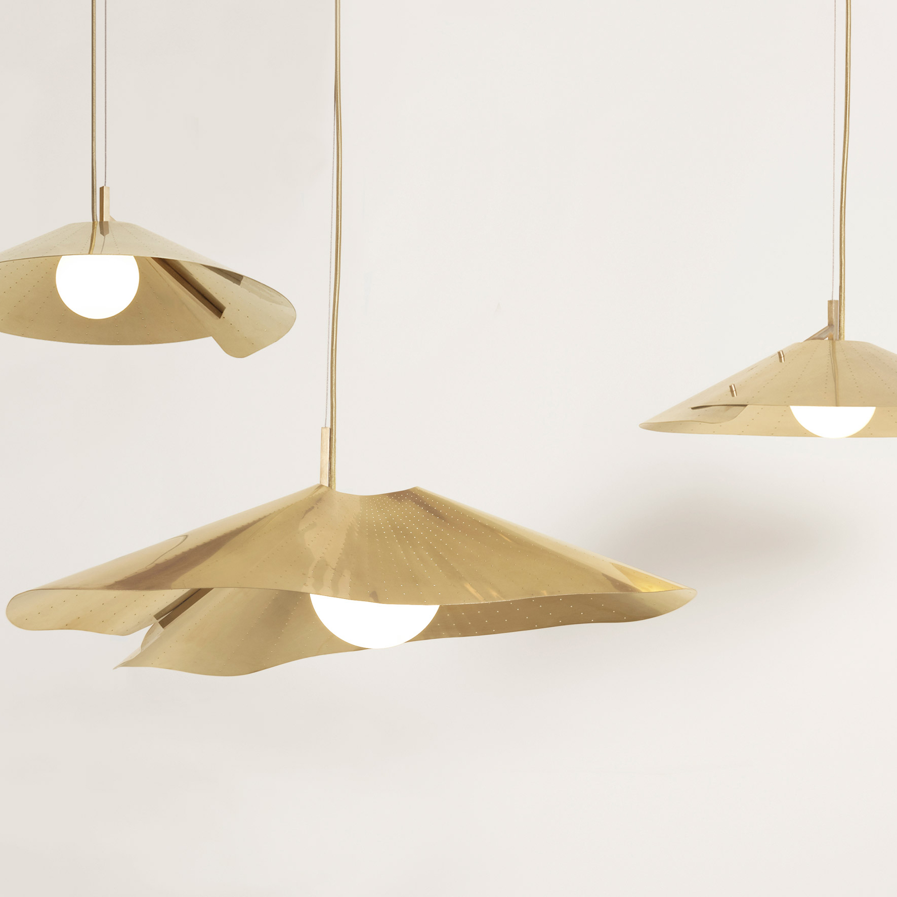 Compas Pendants by Paolo Fancelli for Atelier de Troupe