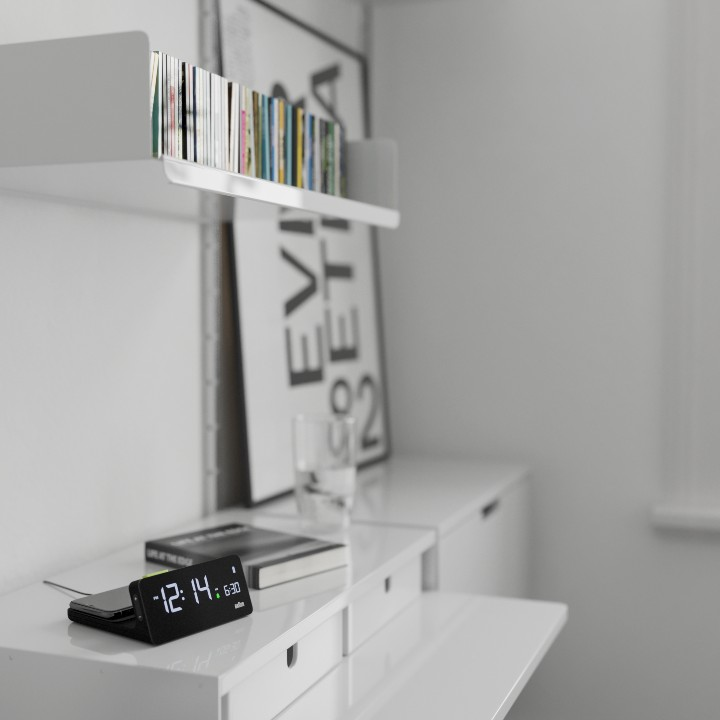The BC21 charging clock by Braun