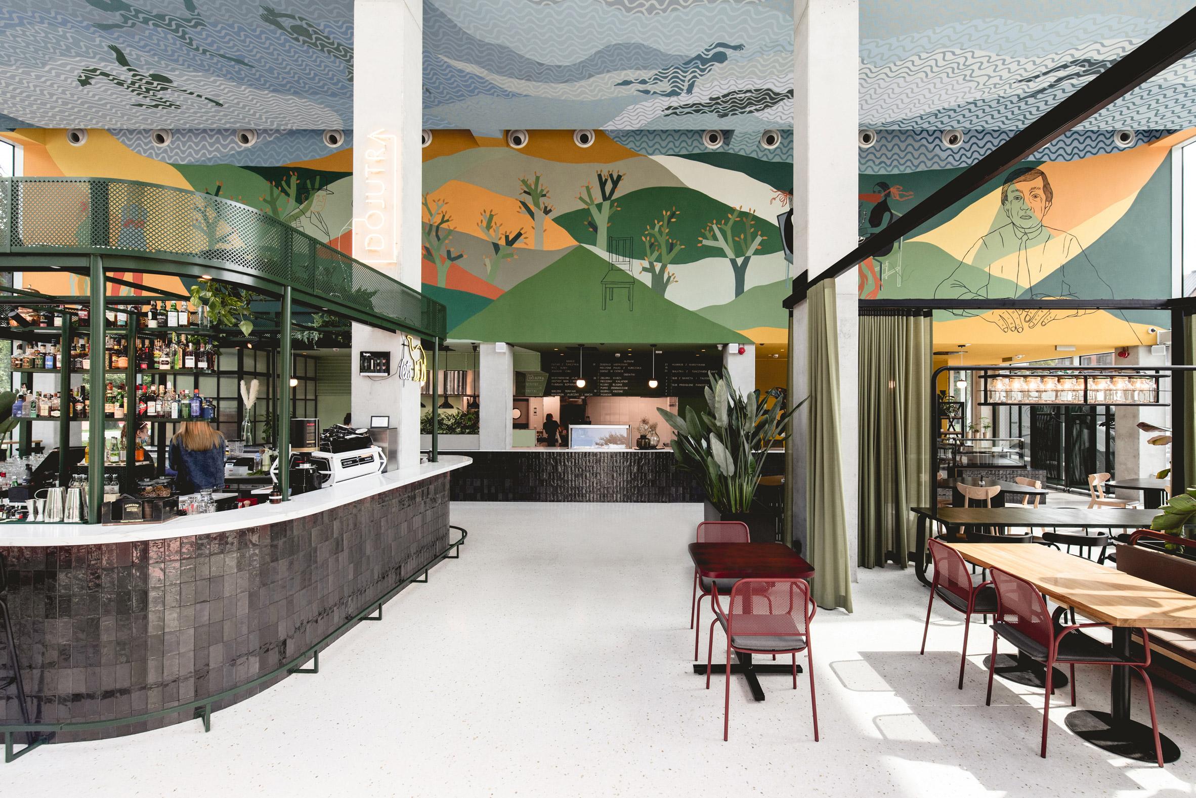 Restaurant at Concordia Design by MVRDV and Alicja Biala