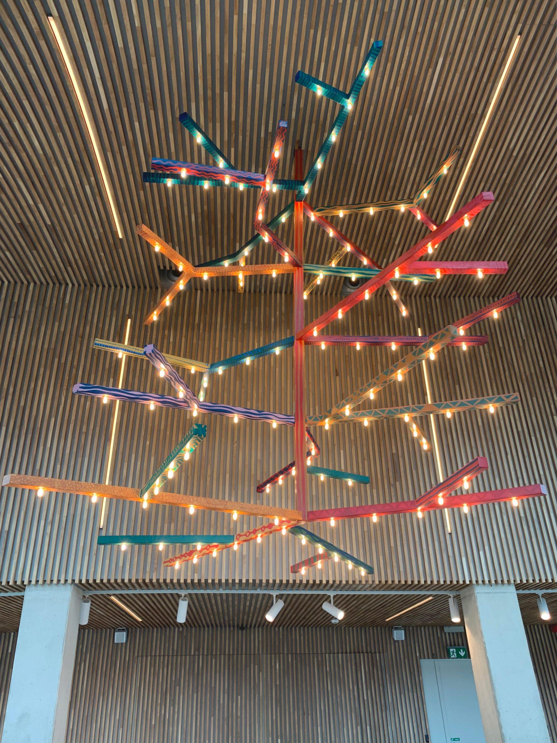 Lighting design at Concordia Design by MVRDV and Alicja Biala