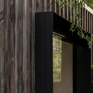 ER Residence by Studio Hallett Ike has a charred larch extension