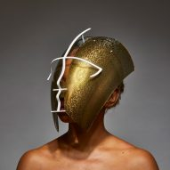 "Tosin Oshinowo and Chrissa Amuah create ""spectacular"" bronze face shield"