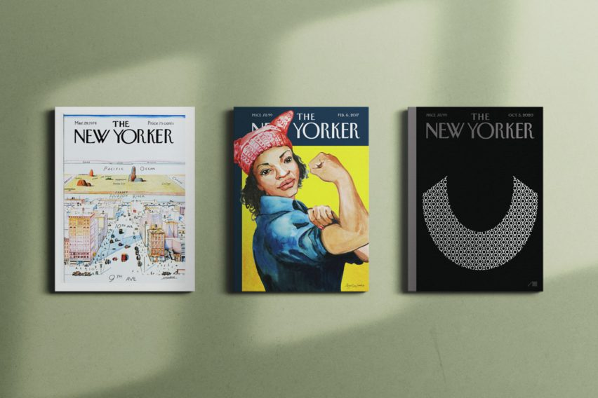Three covers from The New Yorker in Fine Art America's Condé Nast Art Collections