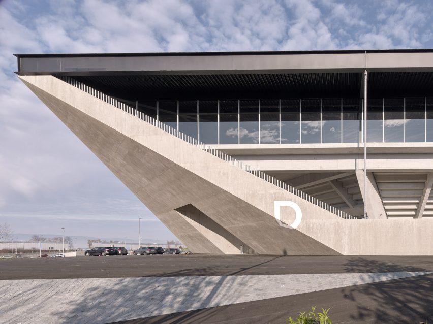Lausanne football stadium