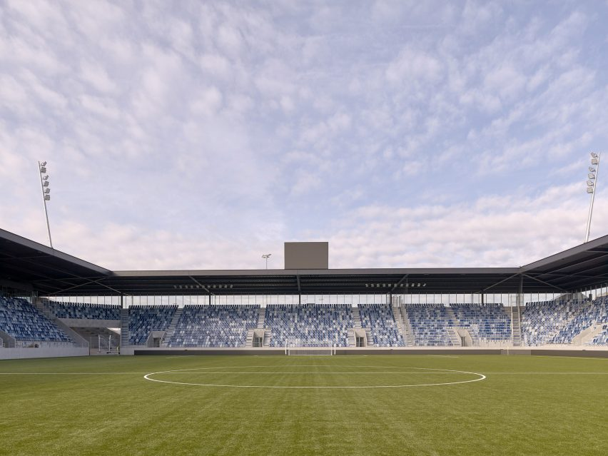 Football Club Lausanne-Sport pitch