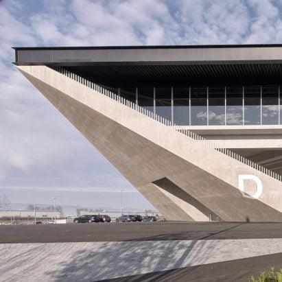 Lausanne football stadium by MLZD & Sollberger Bögli Architects