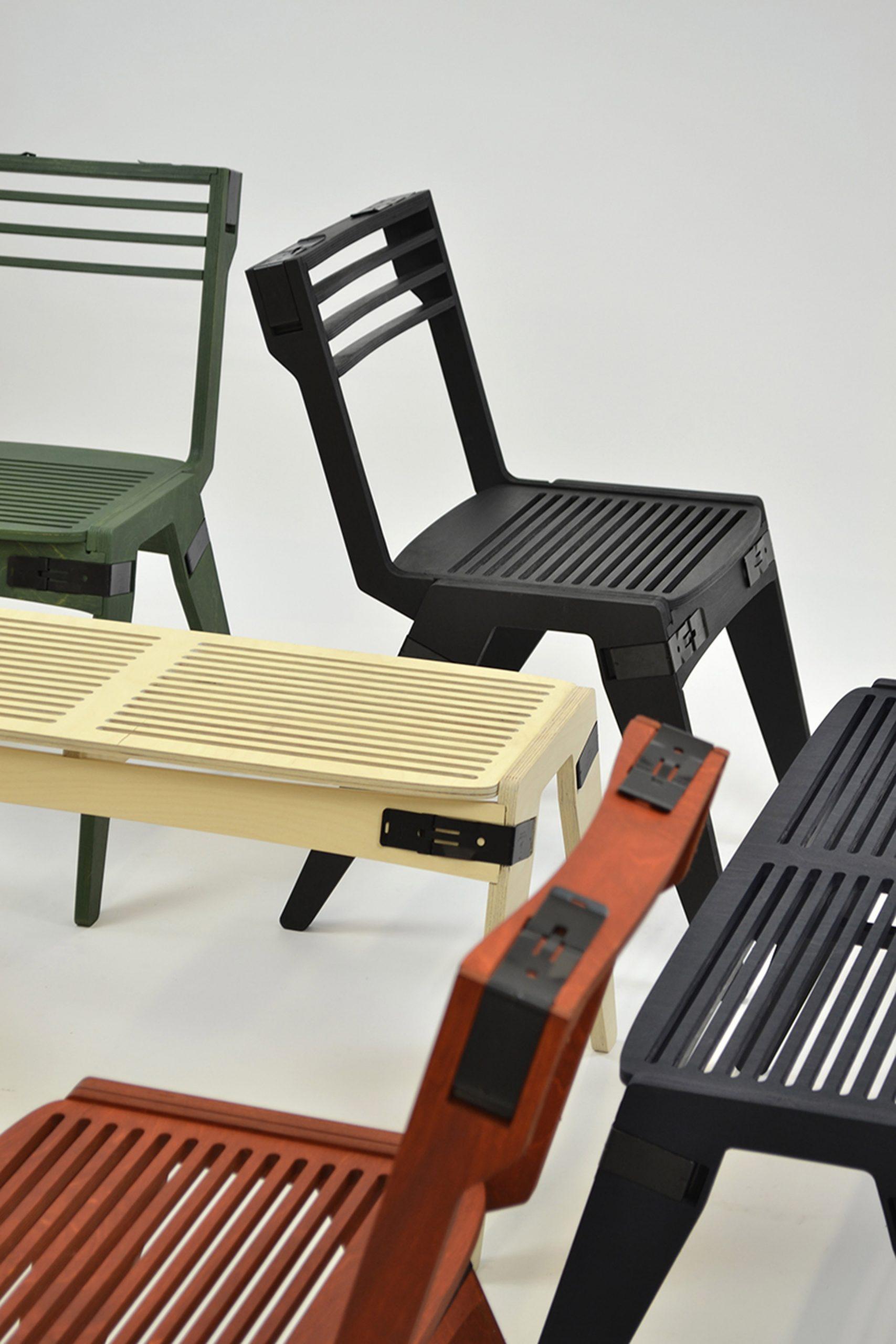 Originals flat-pack furniture range