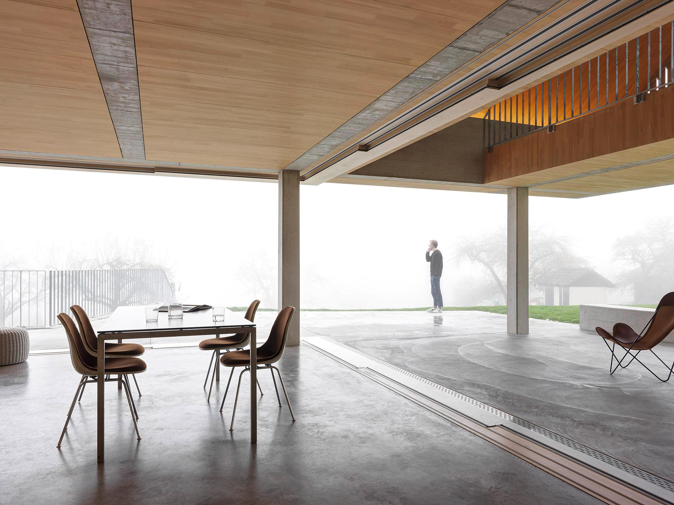 House is Switzerland by Gus Wüstemann Architects