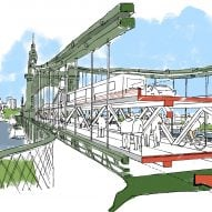 Foster + Partners presents idea for double-decker Hammersmith Bridge