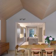 New dining room in Hampstead House by Dominic McKenzie Architects