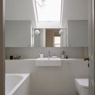 Bathroom in Hampstead House by Dominic McKenzie Architects