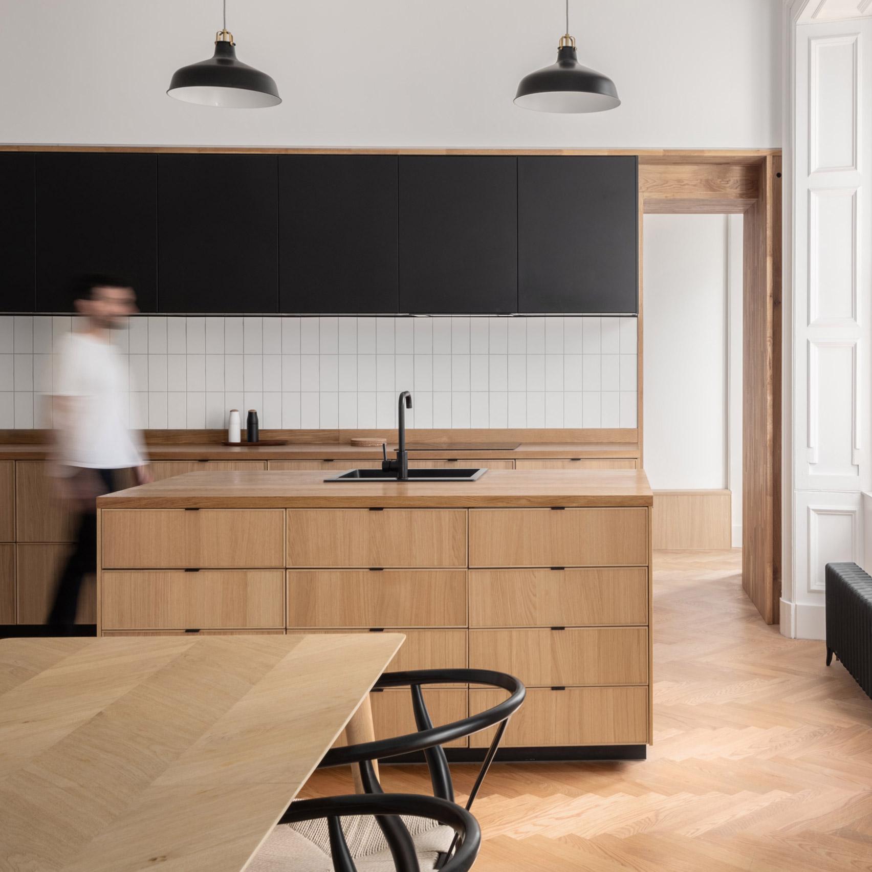 Dezeen's top home interiors of 2020: Edinburgh apartment by Luke and Joanne McClelland