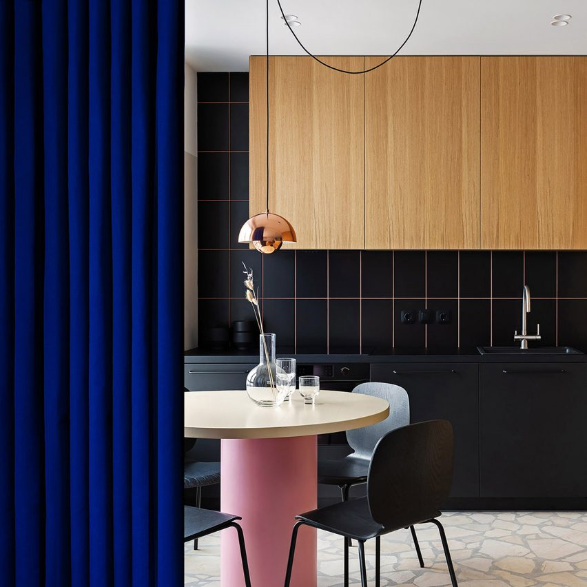 Dezeen's top home interiors of 2020: EGR Apartment by Ater Architects