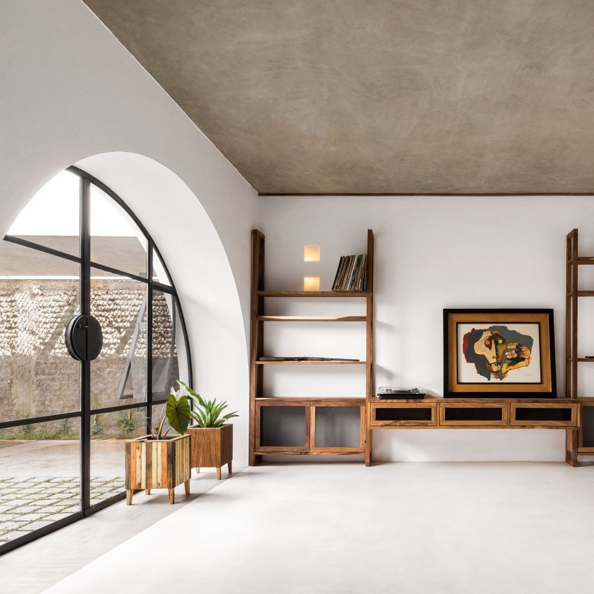 Dezeen's top home interiors of 2020: Casa A690 by Delfino Lozano