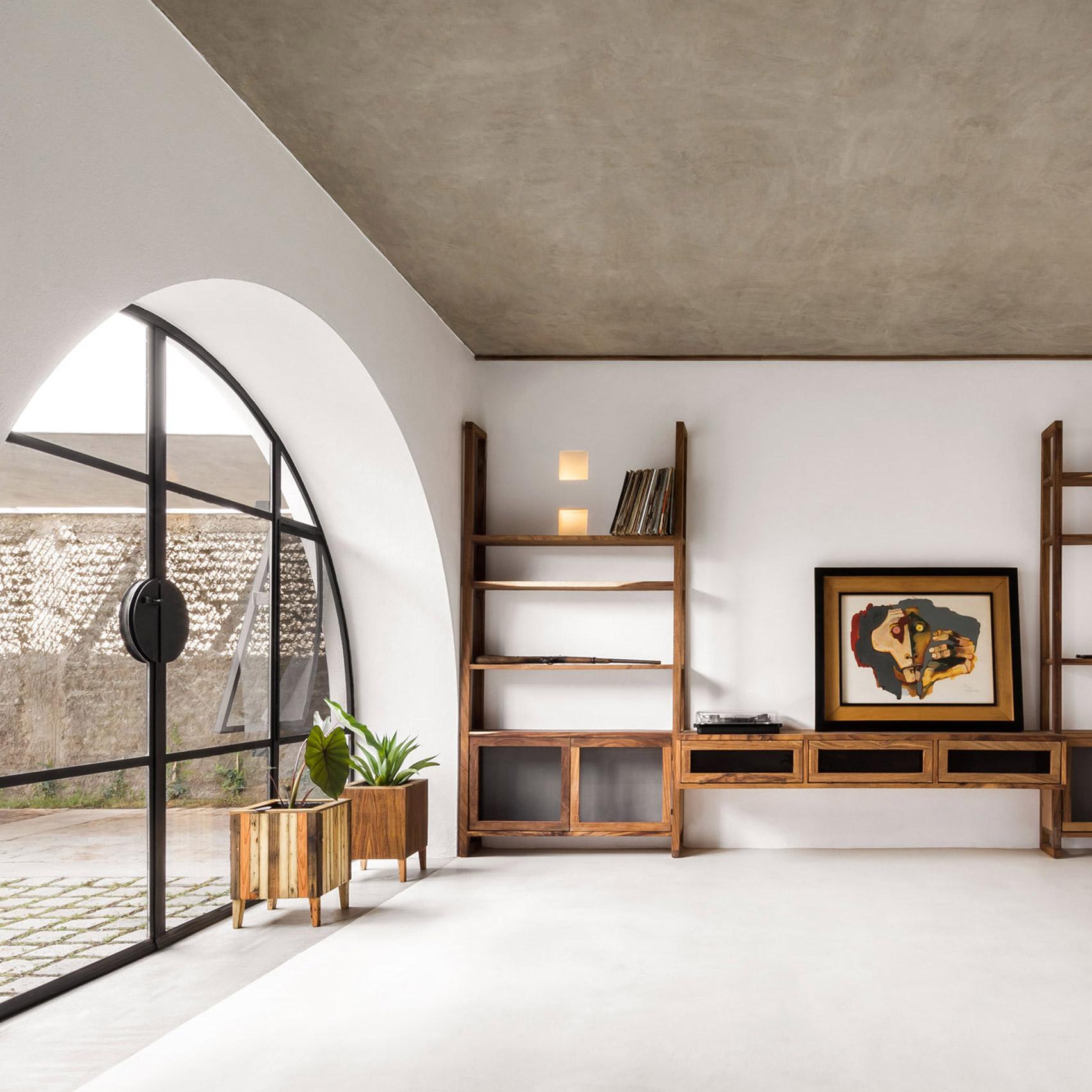 Dezeen's top home interiors of 2020: Casa A690 by Delfino Lozano