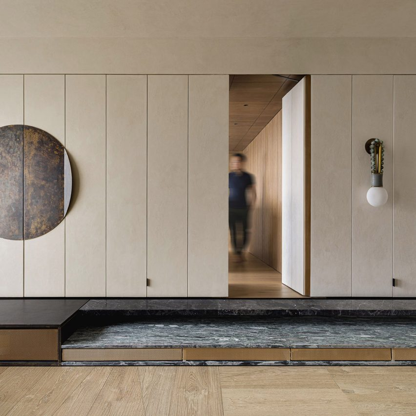 Dezeen's top home interiors of 2020: Imperfect Residence by NC Design & Architecture