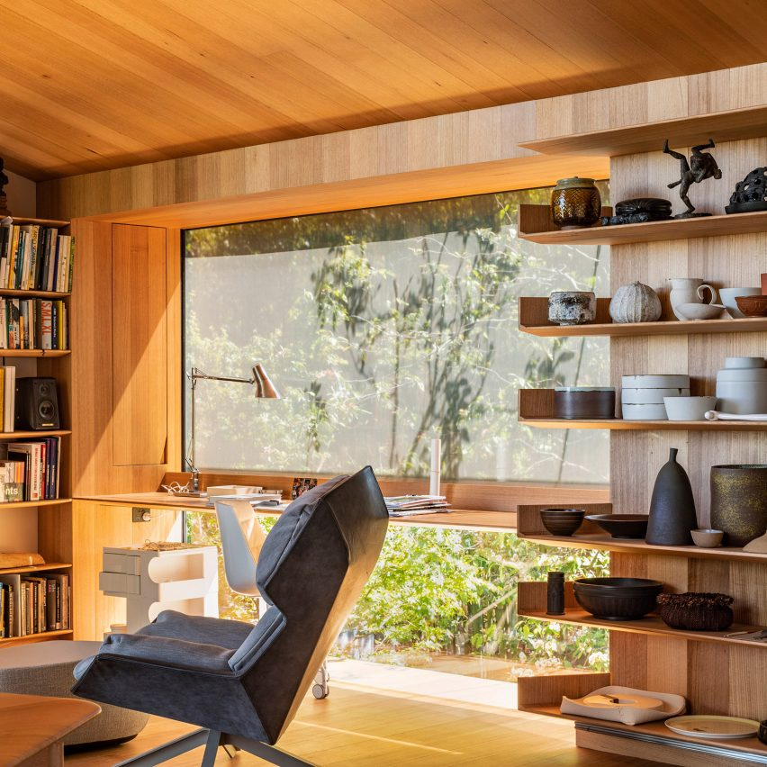 Dezeen's top home interiors of 2020: Kew Residence by John Wardle