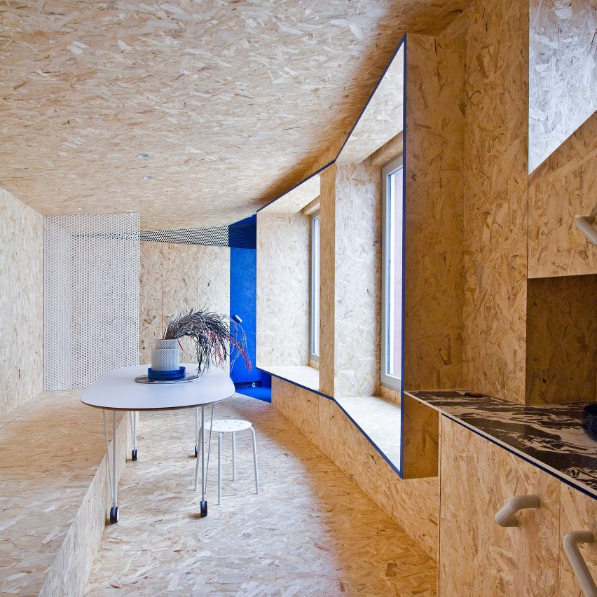 Dezeen's top home interiors of 2020: Urban Cabin by Francesca Perani