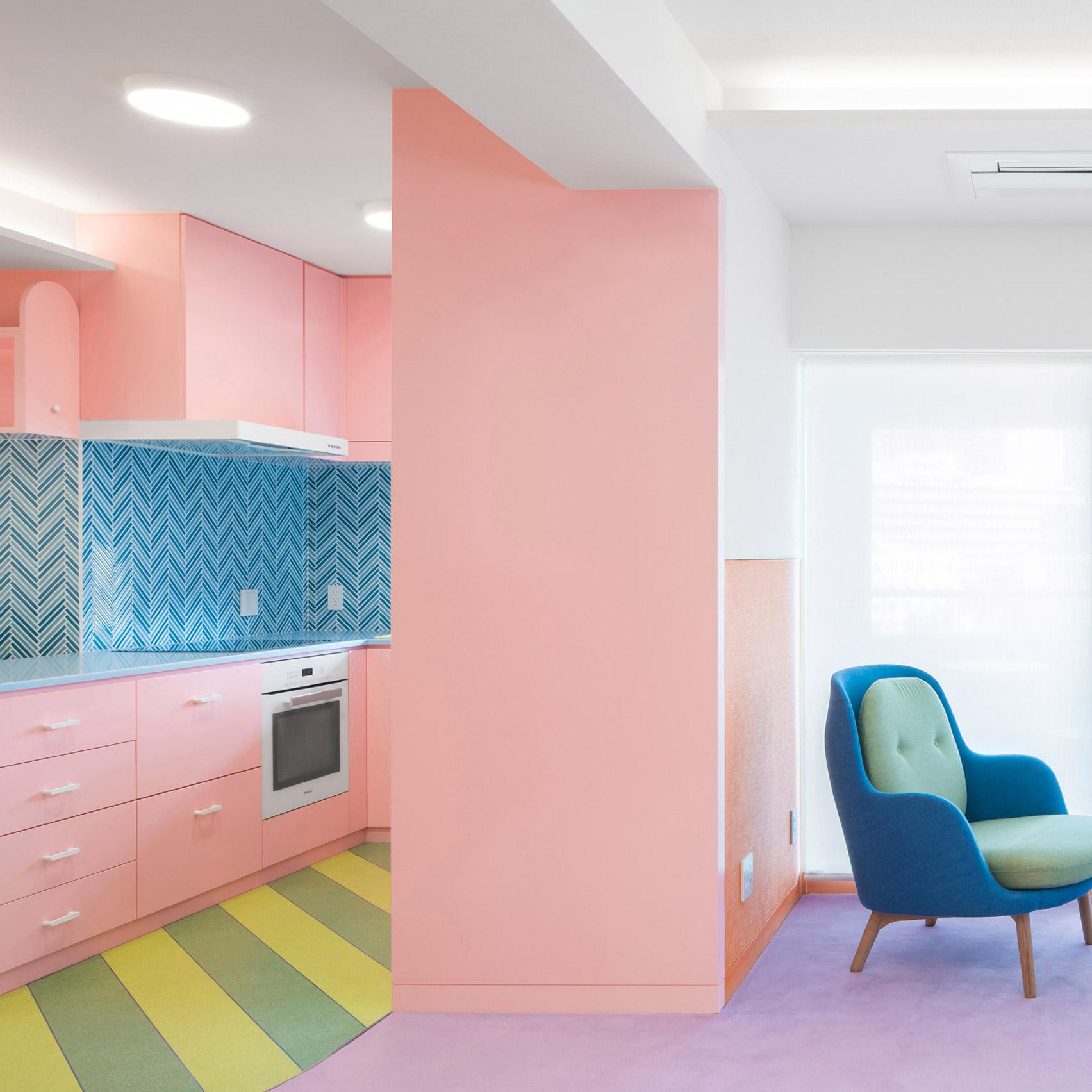 Dezeen's top home interiors of 2020: Nagatachō Apartment by Adam Nathanial Furman