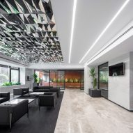 Interior of Sharif Office Building by Hooba Design Group