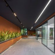 Greenspace in Sharif Office Building by Hooba Design Group