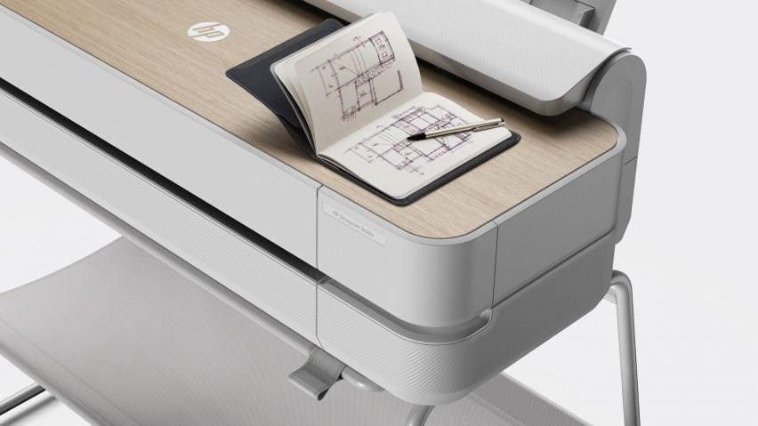 Render of HP's large-format printer