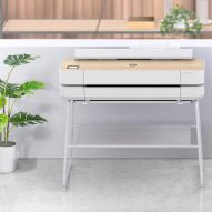 """HP DesignJet Studio is a piece of """"furniture that prints"""""""