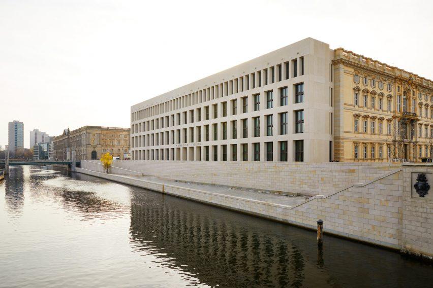 Humboldt Forum modern facade