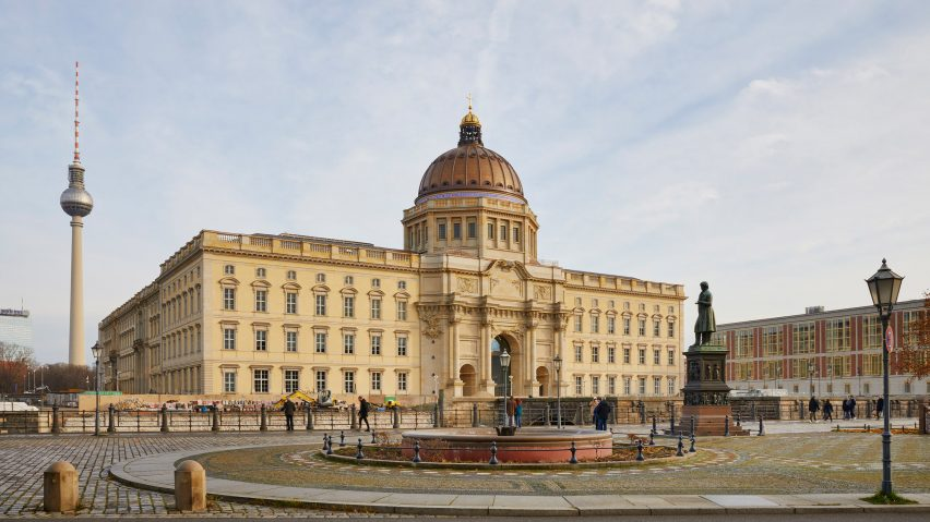 Humboldt Forum in Berlin by Franco Stella