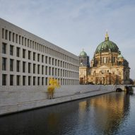 German royal palace reconstructed to become Humboldt Forum on Berlin's Museum Island
