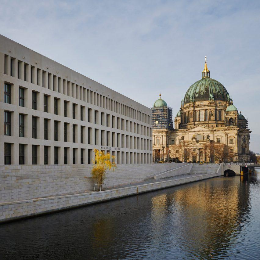 Humboldt Forum in Berlin by Franco Stella