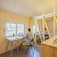 Husos Architects creates compact Love Shack cabin as founder's home and office