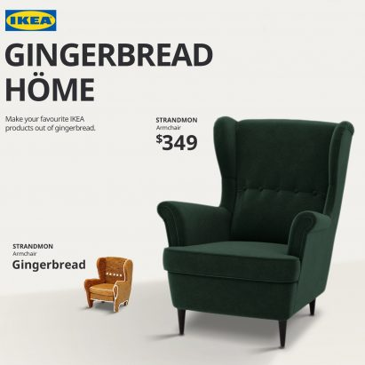 IKEA flat-pack Gingerbread Höme furniture kit