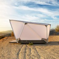 Jupe travel pods are space-themed shelters for off-grid living