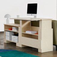 Alexander Lervik designs Kabinett dresser for Adea that doubles as a desk