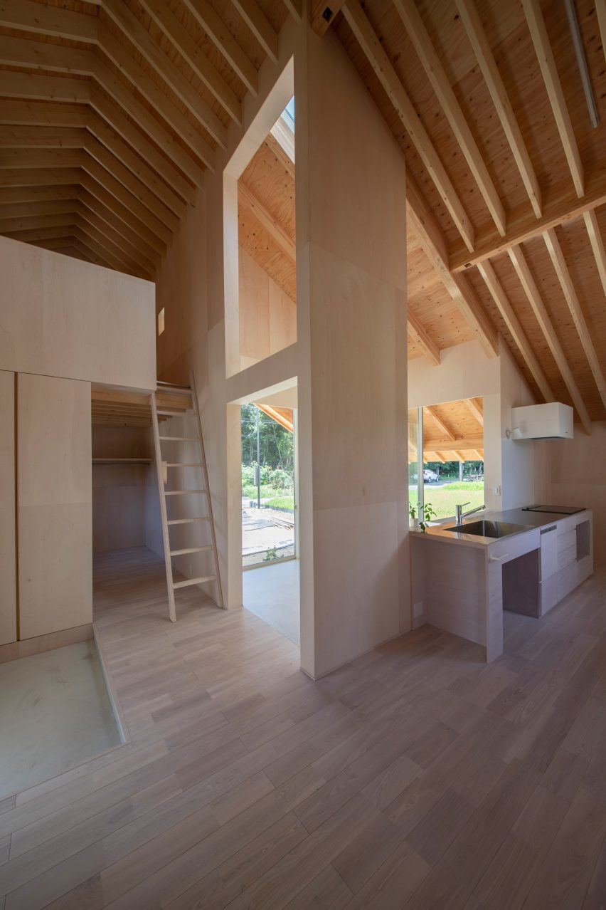 Dining room in Japanese house