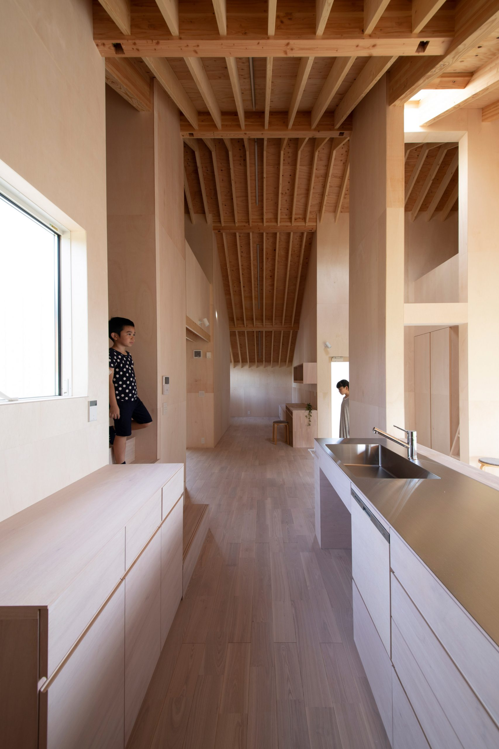 Living space in Japanese house