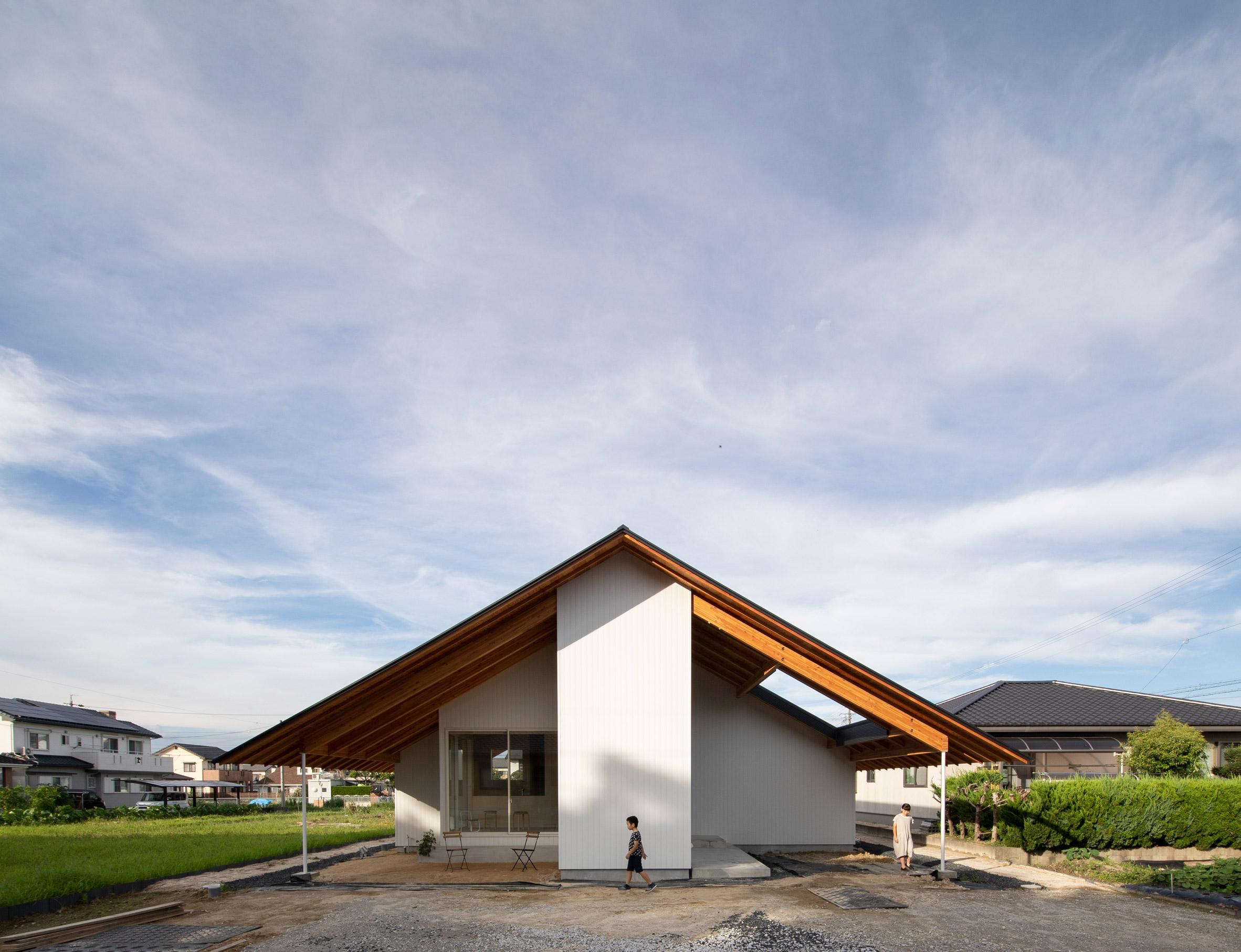 Kasa House in Japan