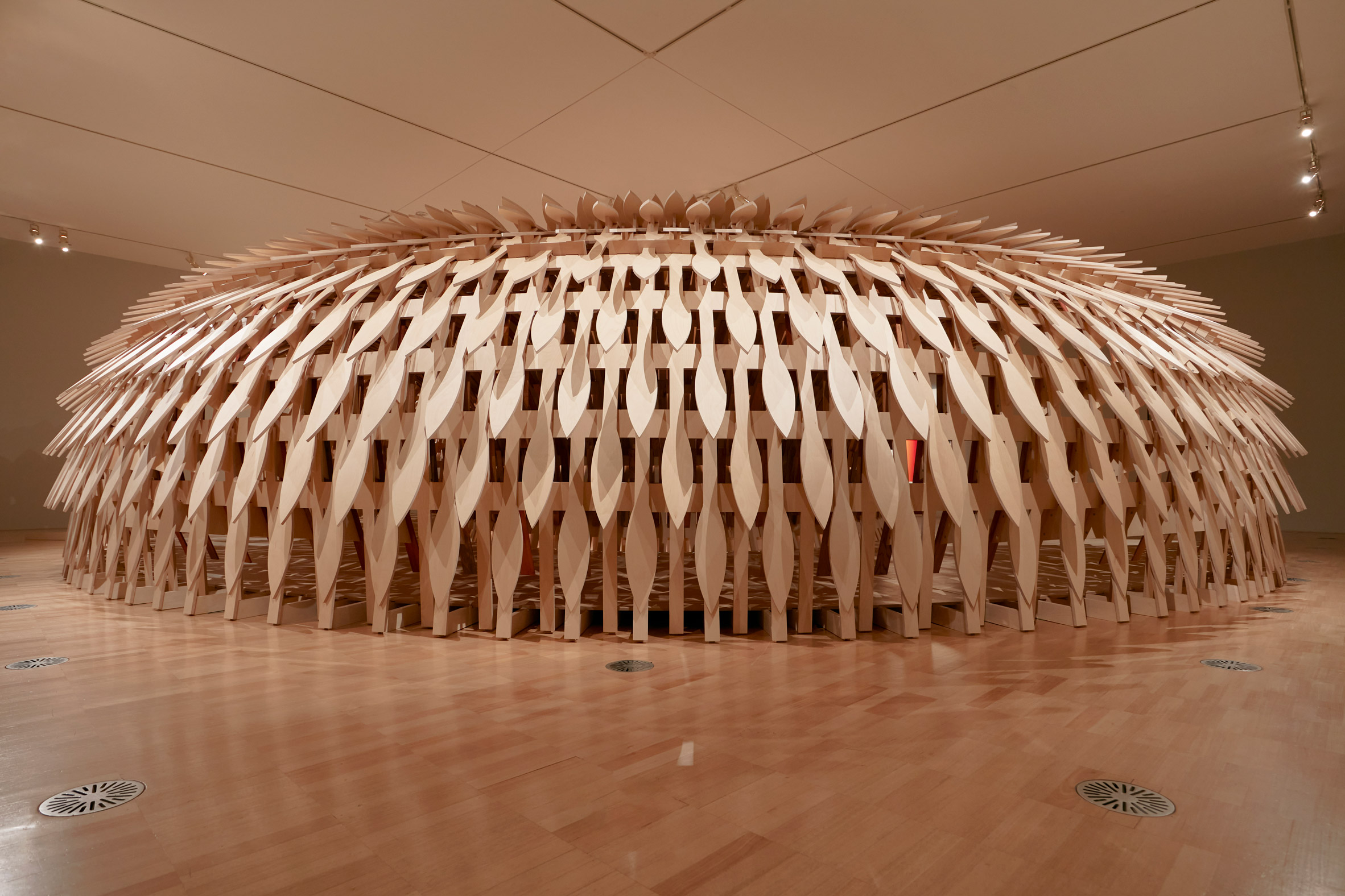 Wooden Botanical Pavilion by Kengo Kuma and Geoff Nees